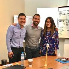 (posted) 2018.07.30 David, Daniel and MariaTeresa at agile training in Peru (2)